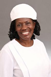 Missionary Iris M. Nicholson !st Lady